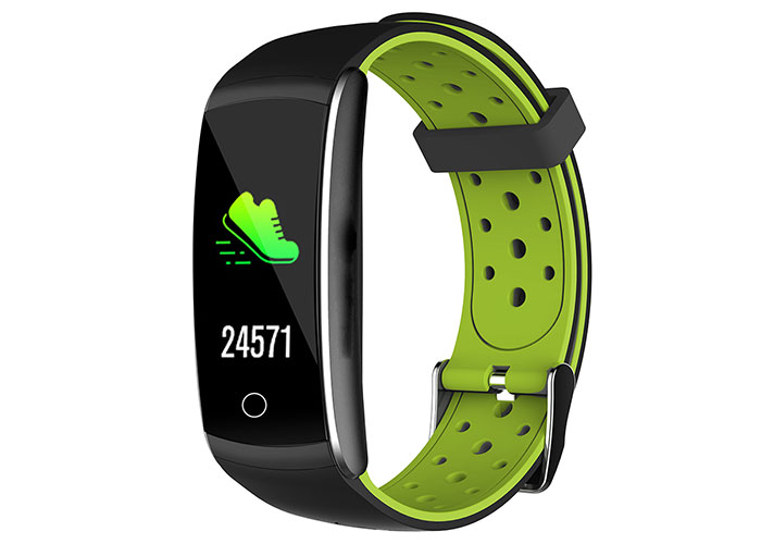 Everest Ever Fit W49 Android / IOS Green / Black Smart Wristband with Heart Rate Sensor
