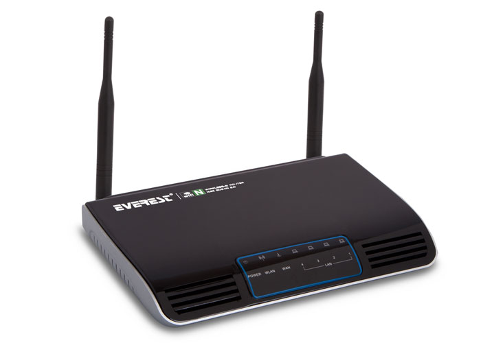 Everest EWN-513N2 Ethernet 4 Port 300Mbps Dual Antenna Wireless Router