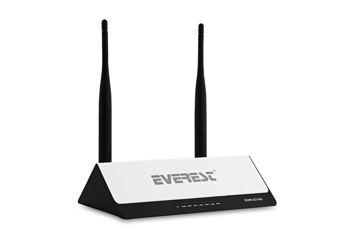 Everest EWR-521N2 Kablosuz-N WPS + WISP 300 Mbps Repeater+Access Point+Bridge Kablosuz Router