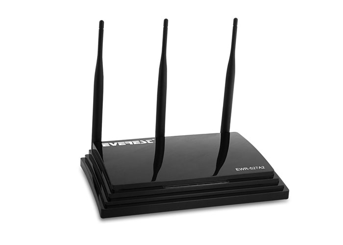 Everest EWR-527A2 Dual Band Gigabit 1200Mbps Repeater + Access Point + Bridge Client Wireless Router