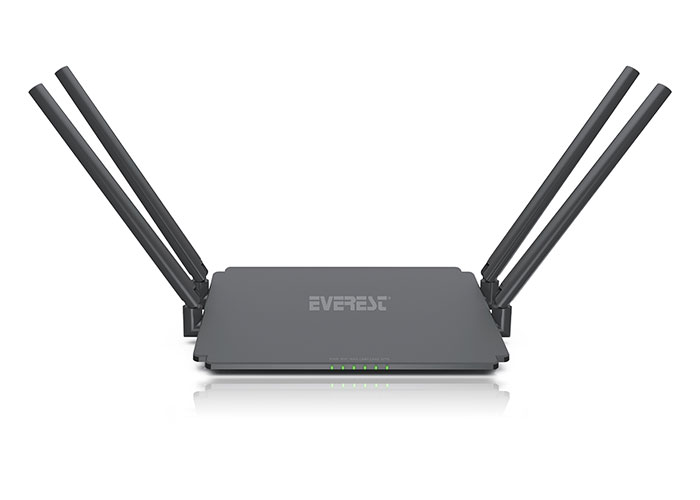 Everest EWR-532AC3 Smart (APP Control) AC1200 Mbps Repeater+Access Point+Bridge Kablosuz Router