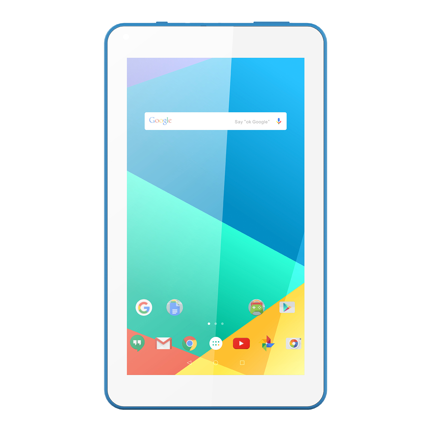 Everest WİNNER PRO EW-2021 Beyaz/Mavi Wifi+BT 2*Kamera 7 LCD Ekran A100 Quard Core 2GB+16GB And.10 OS Tablet PC