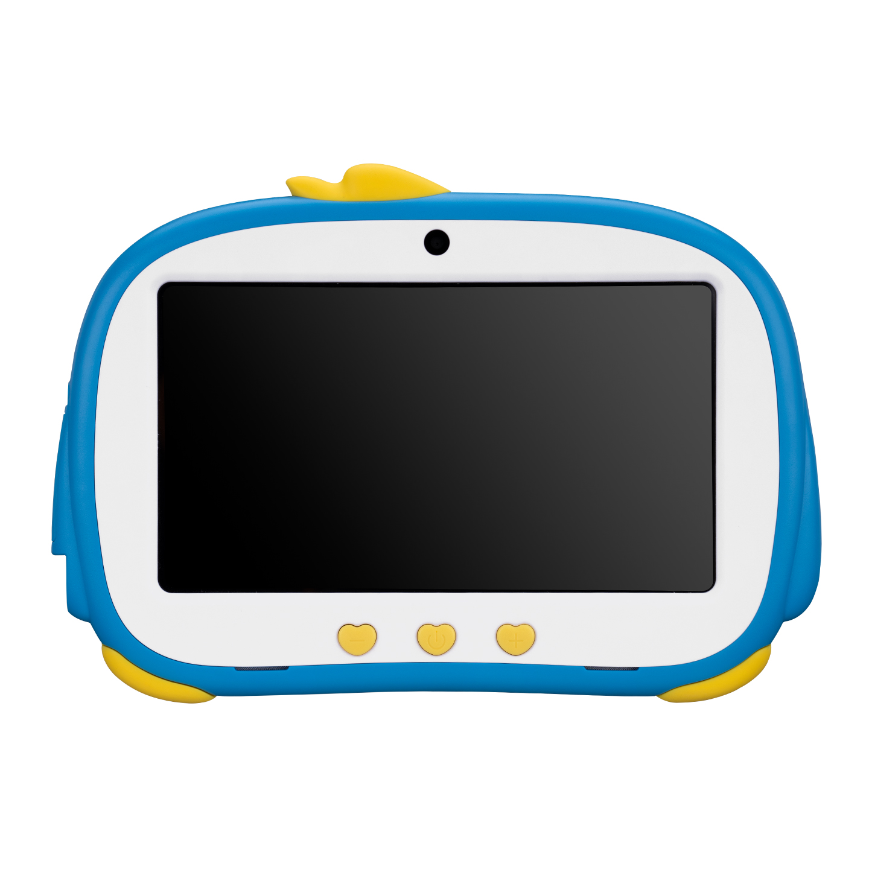 Everest HAPPY KIDS Penguen EW-2022 Wifi+BT Çift Kamera Mavi 7 LCD Ekran 2GB A100 Quard Core 16GB And.10 OS Tablet PC