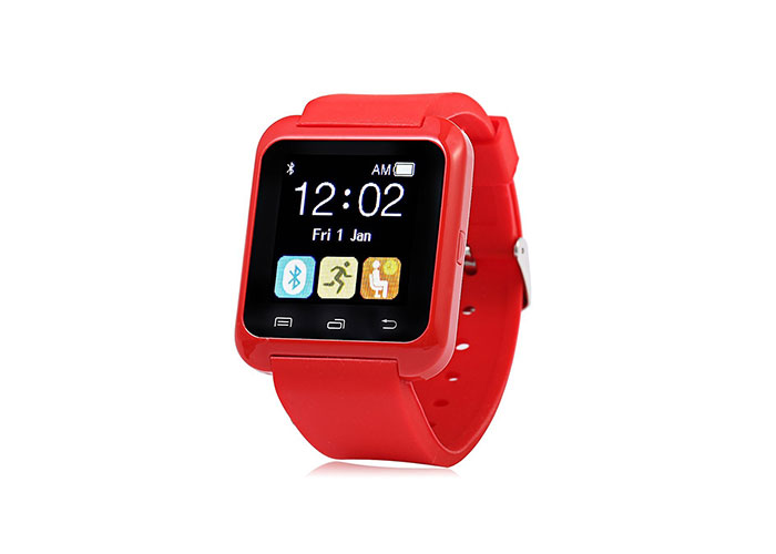 Everest Ever Watch EW-403 Bluetooth Smart Watch Red Smart Watch