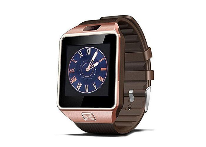 Everest Ever Watch EW-504 Bluetooth  Gold Color Smart Watch