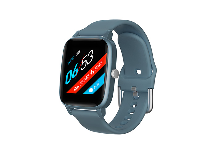 Everest Ever Watch EW-511 Android/IOS Smart Watch Vücut Isı Göstergeli Mavi Akıllı Saat