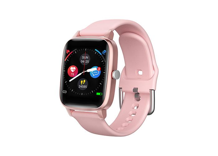 Everest Ever Watch EW-511 Android/IOS Smart Watch Vücut Isı Göstergeli Pembe Akıllı Saat