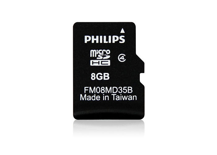 Philips FM08MD35B/97 8 Gb Class4 Micro SD Kart Bellek Kutulu