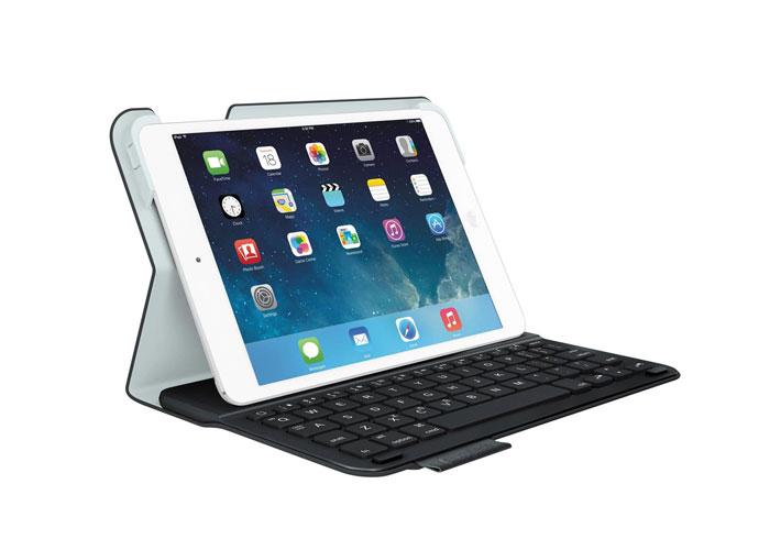 Logitech Folio Ultrathin iPad Air Siyah Klavye + Koruma Kılıfı