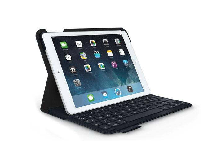 Logitech Folio Ultrathin iPad Air Beyaz/Siyah Klavye + Koruma Kılıfı