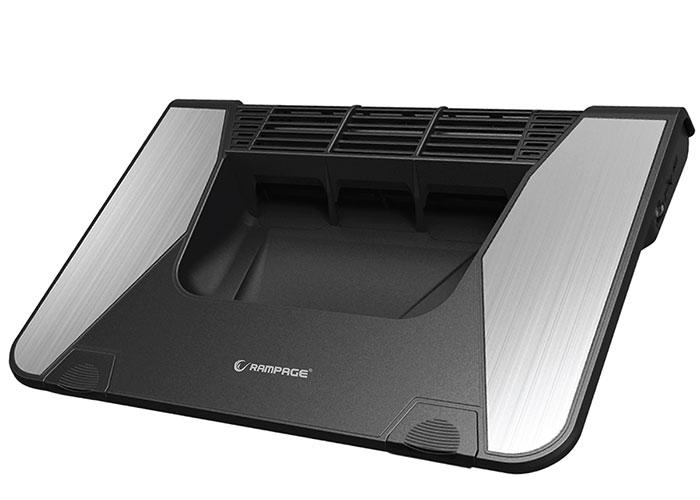 Addison Rampage Frosty Çapraz Akış Fanı İle , 12 - 19 GAMING Notebook Soğutucu Stand