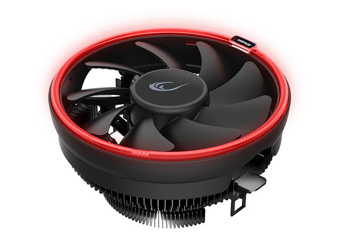 Rampage FROSTY-R 3Pin 120mm AM4 Ready 1600Rmp Red Led Cooler Fan