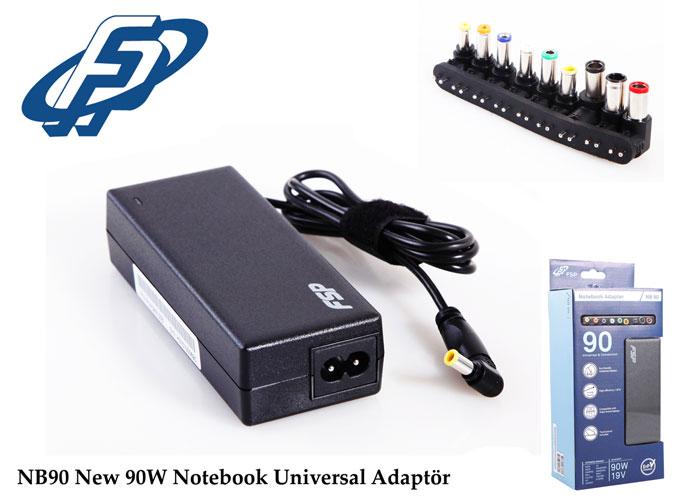 Fsp NB90 New 90W Notebook Universal Adaptör