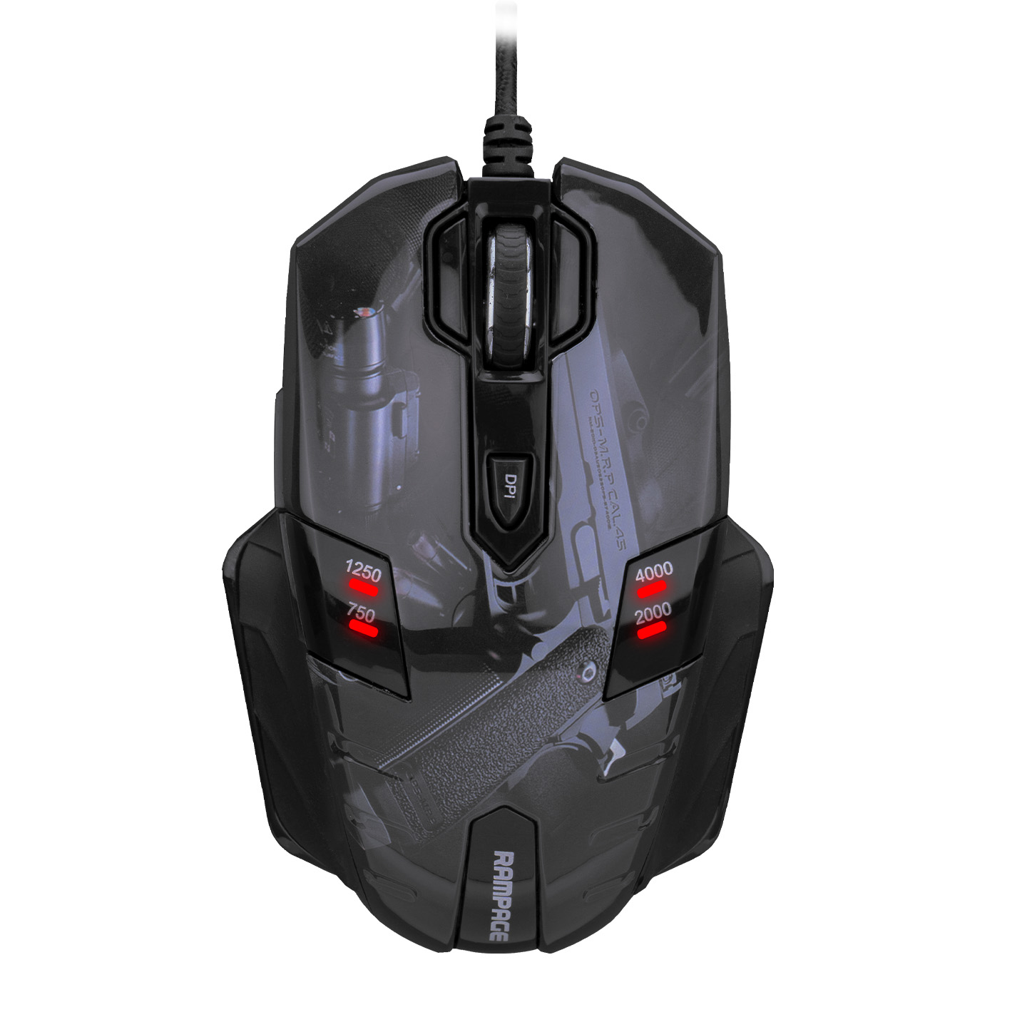 Rampage GX-Core8 Usb Guns Oyuncu Mouse