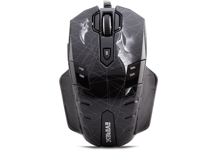 Everest GX8 Usb Scream 10 Tuşlu Makrolu Oyuncu Mouse