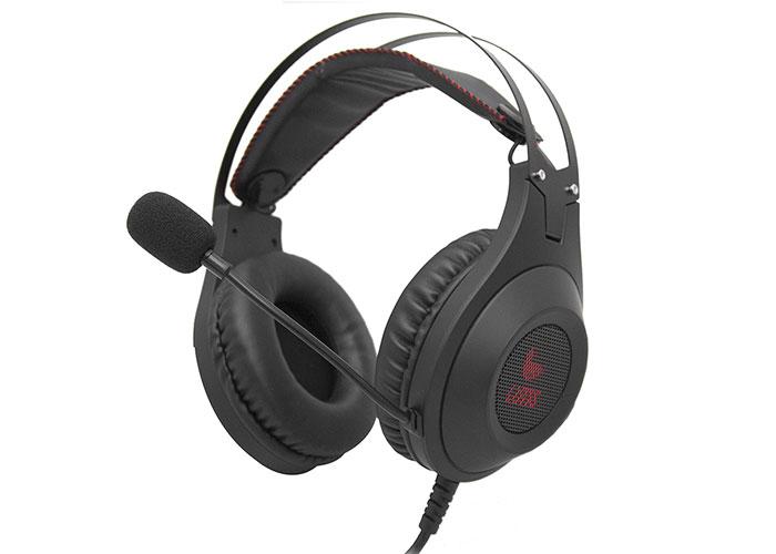 H711A Siyah Usb 7.1 Surround+Titreşim Ledli Oyuncu Mikrofonlu Kulaklık