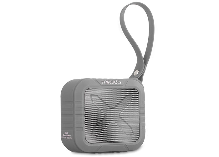 Mikado HANDY Gray 4, 5W * 1pc, 50mm 1200mAh DC5V 83dB Bluetooth Speaker