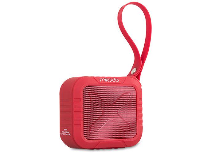 Mikado HANDY Kırmızı 4 ,5W*1pc,50mm 1200 mAh TF Kart, AUX Bluetooth Speaker
