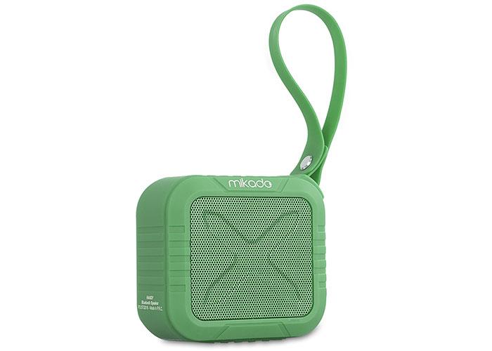 Mikado HANDY Yeşil 4 ,5W*1pc,50mm 1200 mAh TF Kart, AUX Bluetooth Speaker