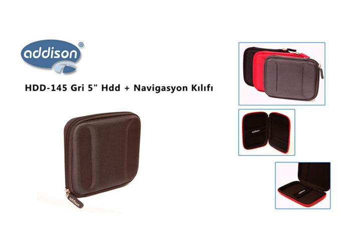 Addison HDD-145 Gri 5 Hdd + Navigasyon Kılıfı