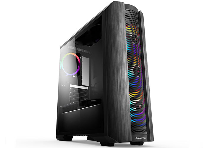 Rampage HERO 650W 80 Plus Bronze 4*ARGB Fanlı 1*Usb 3.0 + 2* Usb 2.0 Tempered Glass Oyuncu Kasası