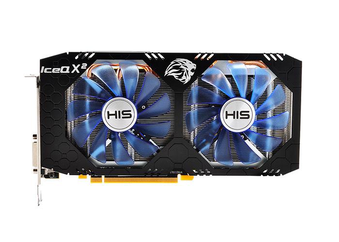 HIS HS-580R8LCBR AMD RX580 ICEQX2 OC 8GB Ekran Kartı