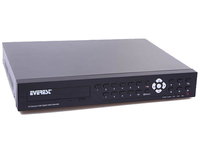 Everest HV-1016 16Ch Image H.264 16Ch Audio DVR Recorder