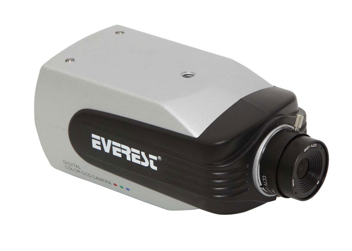Everest HV-618S 1/4 Sharp CCD 4mm 420TVL Güvenlik Kamerası