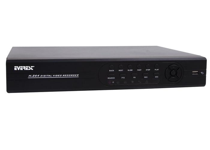 Everest HV-9816 16Ch Görüntü HDMI 2D1 H.264 4Ch Ses DVR Kayıt Cihazı
