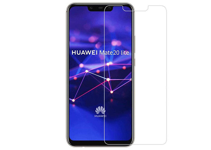 Addison HW-105 Şeffaf Huawei Mate 20 Lite Cam Ekran Koruyucu