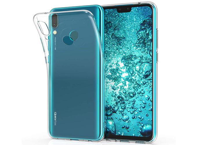 Addison HW-Y9 Şeffaf HUAWEI Y9 PRIME 2019 Telefon Kılıfı