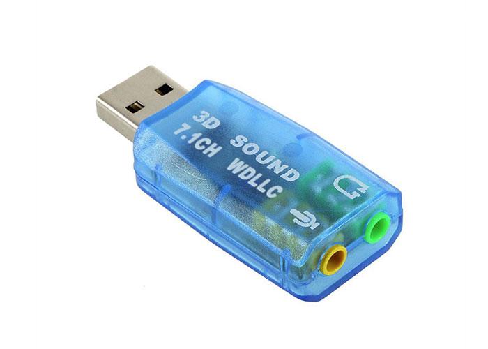 Hytech HY-U705 USB 2.0 Ses Kartı 5.1 CH
