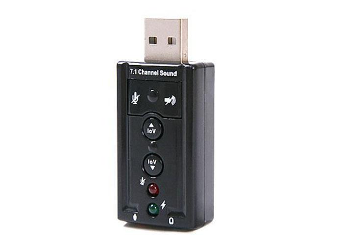 Hytech HY-U717 USB 2.0 Ses Kartı 7.1 CH