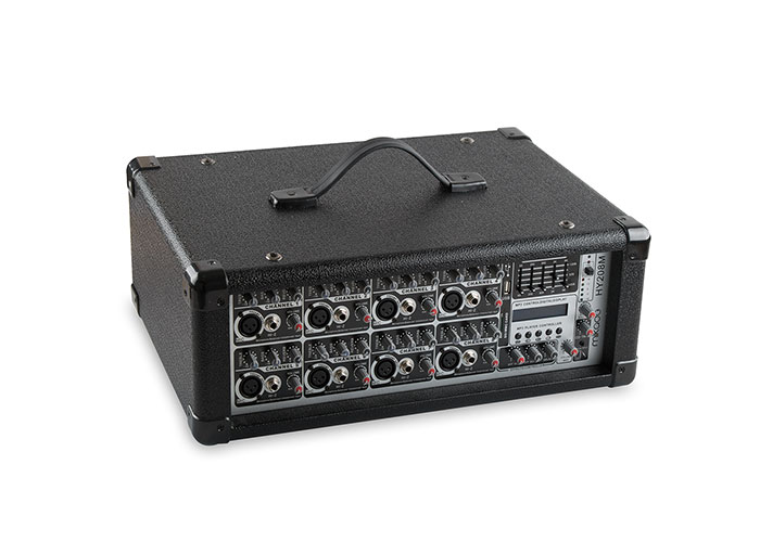 Mikado HY208M 150W x2 Black Usb Mp3 Supported8 Channel Mixer Amplifier