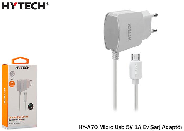 Hytech HY-A70 Micro Usb 5V 1A Ev Şarj Adaptör