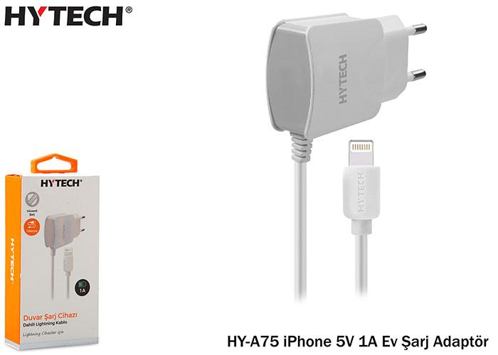 Hytech HY-A75 iPhone 5V 1A Ev Şarj Adaptör