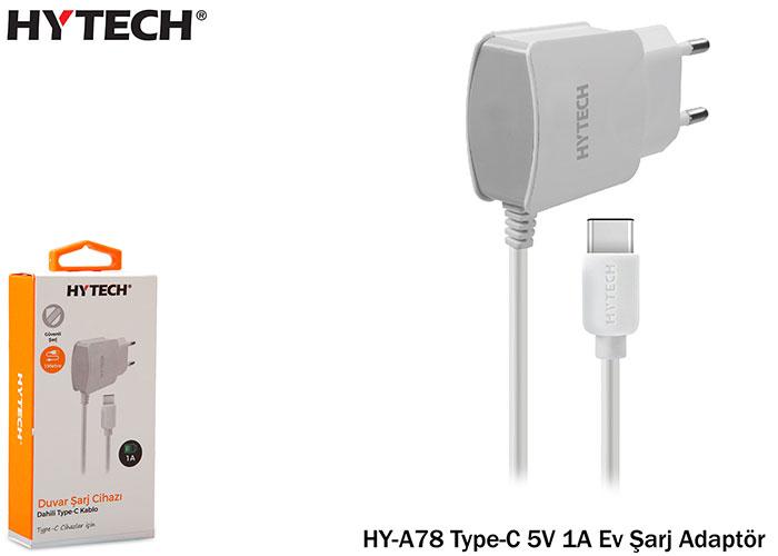 Hytech HY-A78 Type-C 5V 1A Ev Şarj Adaptör