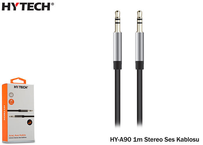 Hytech HY-A90 1m Stereo Ses Kablosu