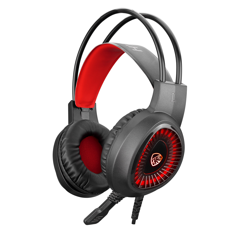 Hytech HY-G1 LEGEND Kırmızı 3,5mm Gaming Oyuncu Mikrofonlu Kulaklık