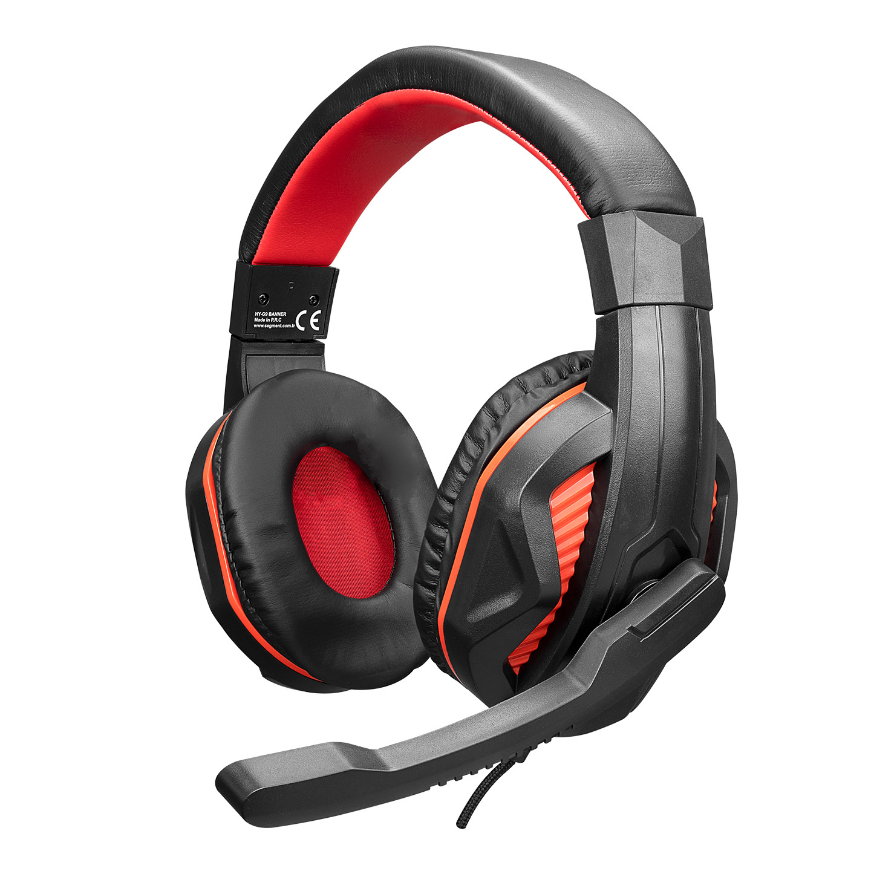 Hytech HY-G9 BANNER Siyah/kırmızı Gaming Oyuncu Mikrofonlu Kulaklık