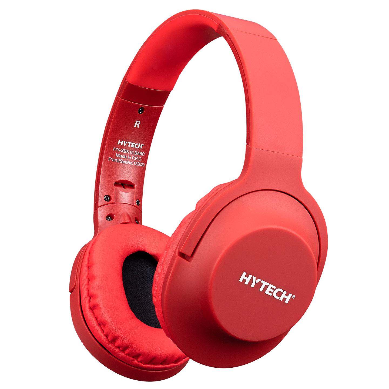 Hytech HY-K19 REMINOR Kırmızı 3,5mm Harici Kablolu PCTelefon Mikrofonlu Kulaklık