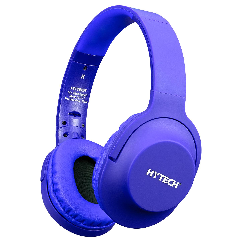 Hytech HY-K19 REMINOR Mavi 3,5mm Harici Kablolu PCTelefon Mikrofonlu Kulaklık