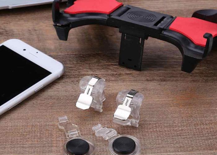 Hytech HY-PG51 Telefon uyumlu Tetikli 5 in 1 Kırmızı/Siyah Joystickli Gamepad