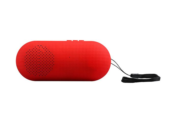 Hytech HY-S10 Kırmızı Usb+TF Kart DC 5V Bluetooth Speaker