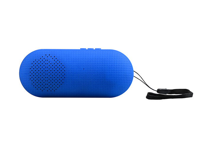 Hytech HY-S10 Mavi Usb+TF Kart DC 5V Bluetooth Speaker