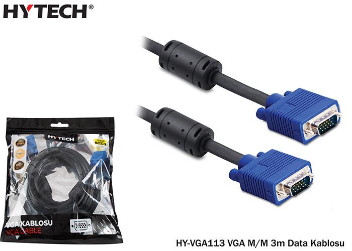 Hytech HY-VGA113 VGA M/M 3m Data Kablosu