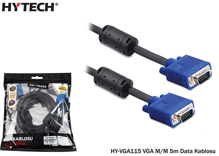 Hytech HY-VGA115 VGA M/M 5m Data Kablosu