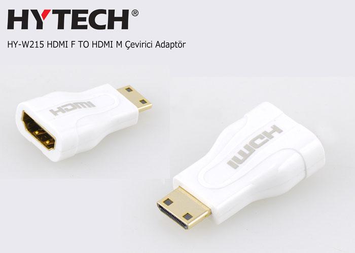 Hytech HY-W215 HDMI F TO HDMI M Çevirici Adaptör