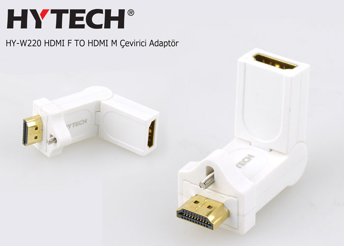 Hytech HY-W220 HDMI F TO HDMI M Çevirici Adaptör