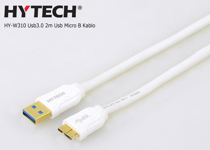 Hytech HY-W310 Usb3.0 2m Usb Micro B Note3/S5 + Harddisk Kablo